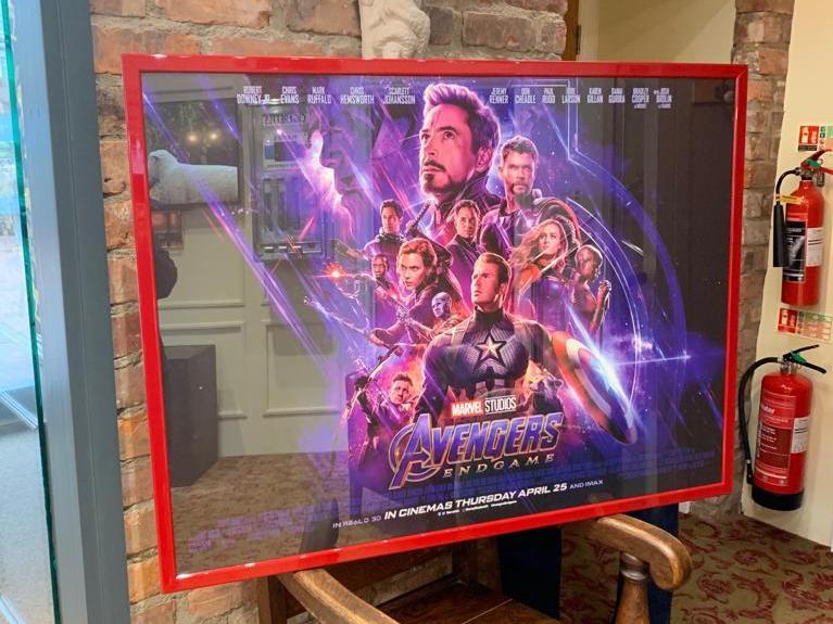 Avengers Framed